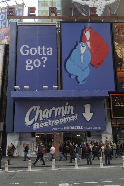charmin bathroom nyc charmin 174 teams up with broadway cares to offer most sought