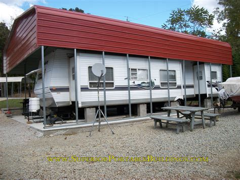 Rv Car Port by Rv Carports Carports For Recreational Vehicles