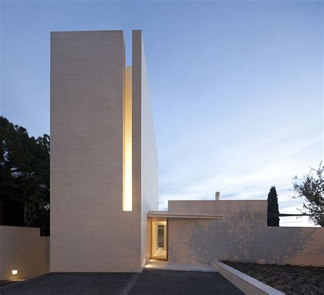 minimalist architects fascinating residence in barcelona enthralls with its