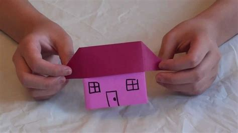 how to house a how to make an origami house