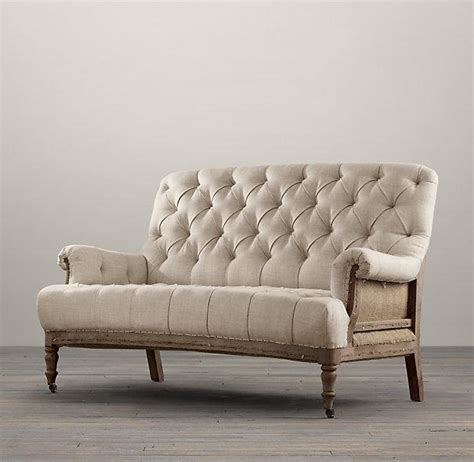 restoration hardware deconstructed sofa deconstructed french victorian settee i restoration hardware