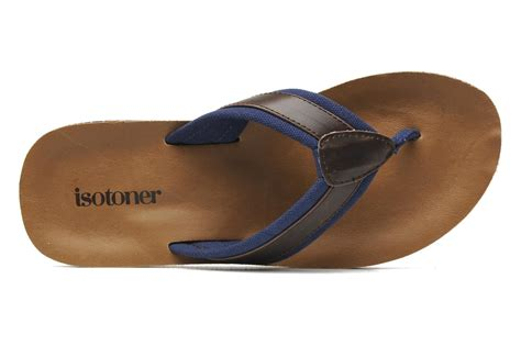 isotoner flip flop slippers isotoner tong moul 233 e roadtrip flip flops in brown at