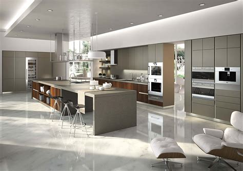 Horizontal Kitchen Cabinets Posh Kitchen Compositions Fuse Modularity With Minimal