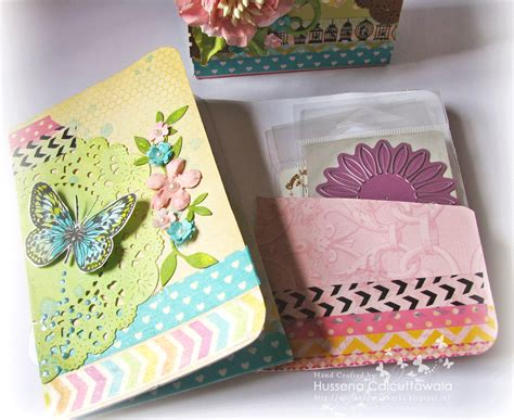 How To Make A Handmade Folder - lulupu the craft lounge mini magazine holder and folders