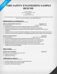 Certified Protection Engineer Sle Resume by Free Construction Safety Engineer Resume Template Certified Safety Engineer Sle Resume