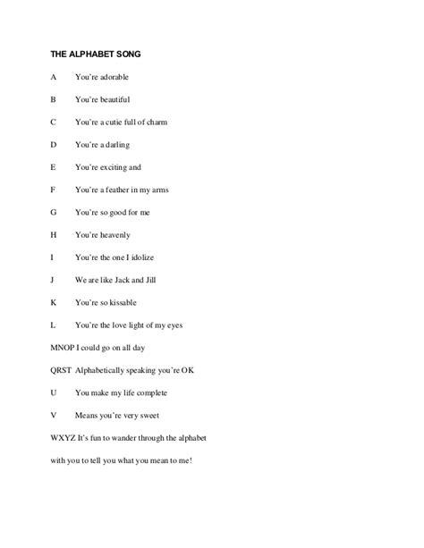 Fairweather Letter Of Intent Lyrics Letter Song Lyrics The Sailors Alphabet Sea Song Or Shantie Lyrics Free Nursery Rhymes Gt Abc