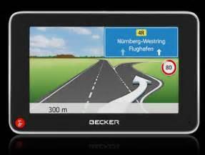 Motorrad Routenplaner Falk Navi by Komfortabel Becker Z215 Navigationssystem Navigogo