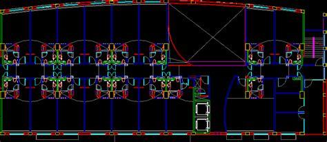 hotel floor plan dwg hotel with 15 bedrooms and floor plans 2d dwg design plan