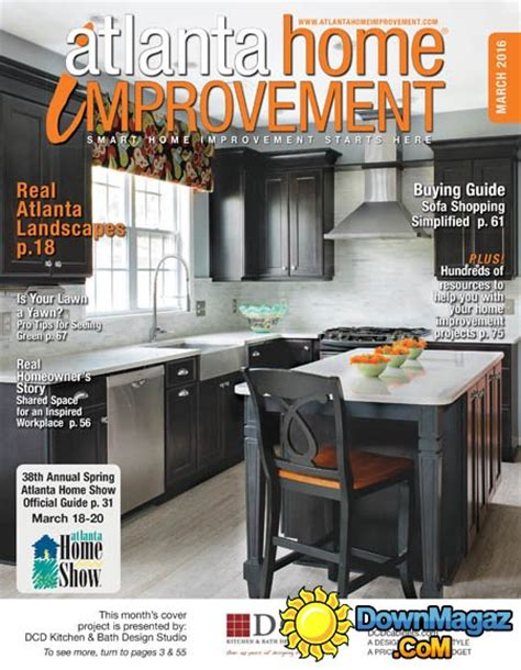 home design and remodeling show march 2016 atlanta home improvement march 2016 187 download pdf