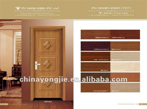 door design catalogue zhejiang yongkang ecological pvc wooden doors design