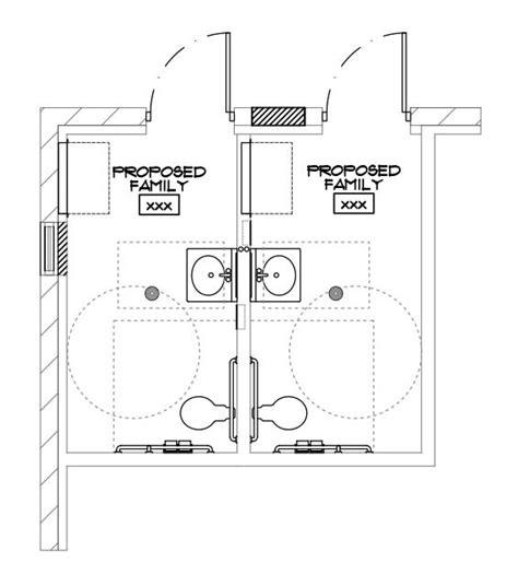 bathroom stall drawings doors architectural drawings