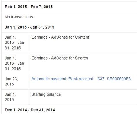 adsense bank account verification how to post adsense revenue accounting finance blog