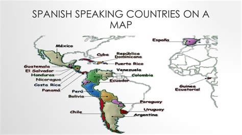 speaking countries map ppt speaking countries powerpoint presentation