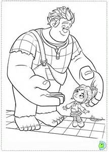 wreck it ralph coloring pages wreck it ralph coloring page dinokids org