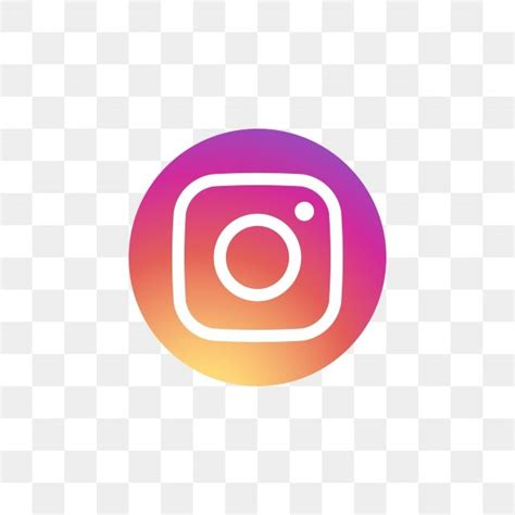 instagram social media icon design template vector ig
