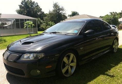 manual cars for sale 2006 pontiac gto seat position control sell used 2006 pontiac gto ls2 6 speed manual transmission one owner 77k no reserve in port
