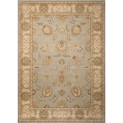 aqua runner rug nourison empire pe22 aqu 23x8 2 3 quot x 8 aqua runner rug furniture superstore nm rugs