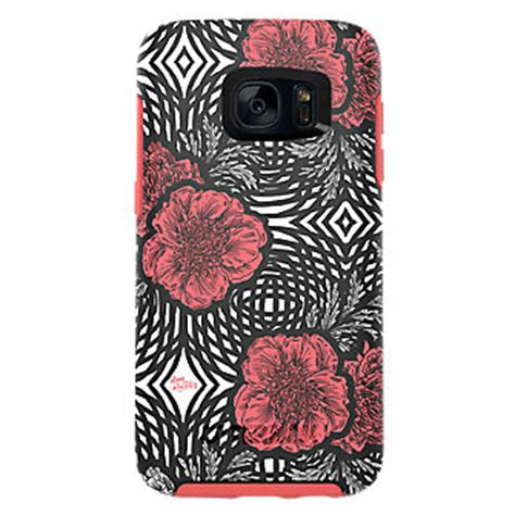 Korean Pink Series Motif Flower For Samsung Galaxy J7 Prime otterbox project runway symmetry series for samsung galaxy s7 pink swirl verizon wireless