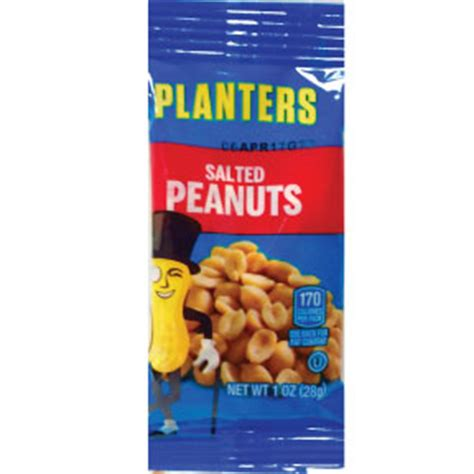 Do Planters Peanuts Gluten by Planters Salted Peanuts Travel Size Miniature Products