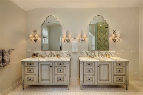 his and bathroom vanities his and hers vanities traditional bathroom chicago