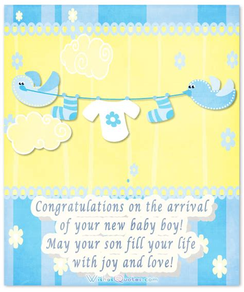 Baby Shower Messages For Boy by Baby Boy Congratulation Messages With Adorable Images