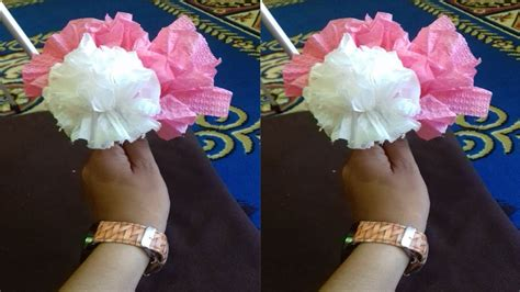 cara membuat coklat valentine warna warni cara mudah membuat bunga tisu warna warni youtube