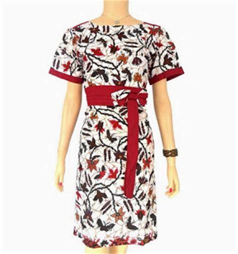 Square Dressbaju Terusan Wanita toko dress batik cantik wanita modern model terbaru