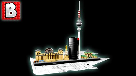 Berlin Set lego architecture berlin set 21027 unbox build time