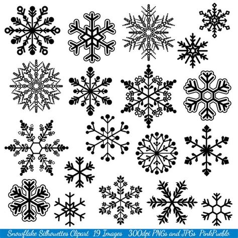 snowflake clipart snowflake clipart clip snowflake silhouette clip
