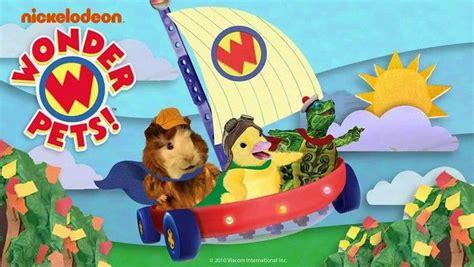 nick jr wonder pets fly boat nick jr pets and tv shows on pinterest