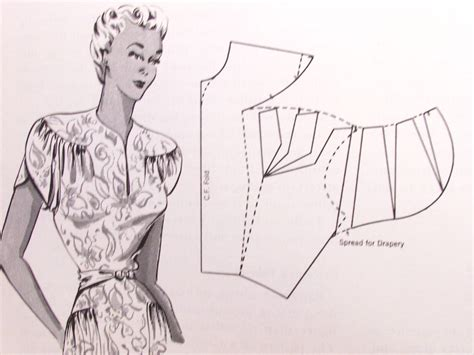 dress design hillhouse 1940s dress design book draping flat pattern making