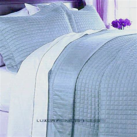 light blue coverlet coverlet quilts hotel 400tc egyptian cotton light blue
