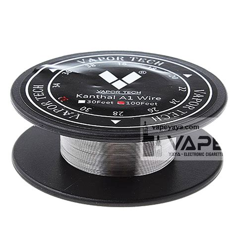Vaportech Kanthal A1 24g 30 Ft vapor tech kanthal a1 wire 100ft 30ft