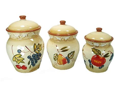 d lusso designs canister set rooster canisters d lusso designs canister set fruit canisters