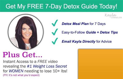 7 Day Detox Pdf by My Exclusive 7 Day Detox Cleanse And Lose Weight