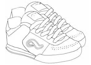 shoes coloring pages pictures of shoes to color coloring home