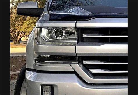 2016 chevy silverado lights 2016 silverado clear headlight markers