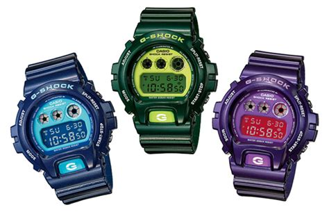 G Shock Collour clothing freshloop