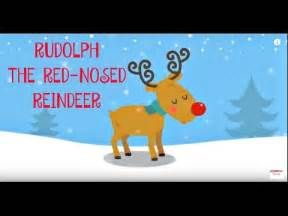 rudolph red nosed reindeer christmas songs kids reindeer song kiboomers
