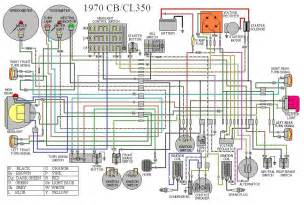 honda cl350 wiring cl350 honda free wiring diagrams