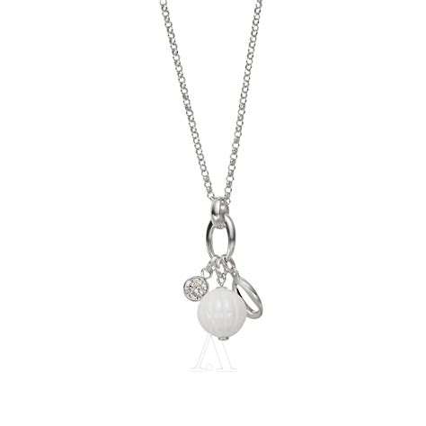 how to make sterling silver jewelry fossil jewelry jf16346040 sterling silver necklace jewelry