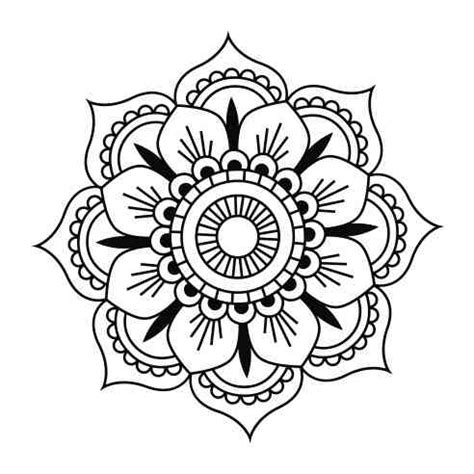 simple mandala tattoo pin by dileep kumar on mandala mandalas