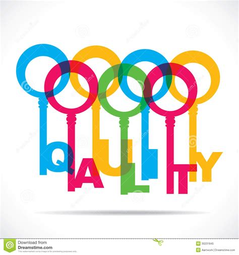 another word for colorful colorful quality word key royalty free stock photo image