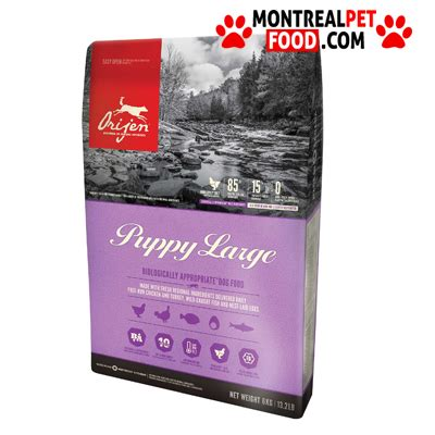 orijen puppy large orijen puppy large montreal pet food