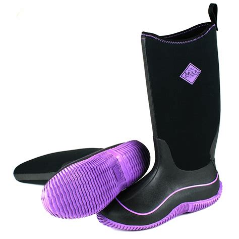 muck boots s hale boots purple tackledirect