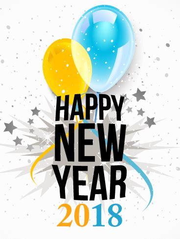 new year everybody birthday happy new year card 2018 birthday greeting cards by davia