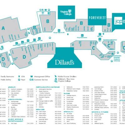 layout of mall of louisiana pierre bossier mall 64 stores shopping in bossier city