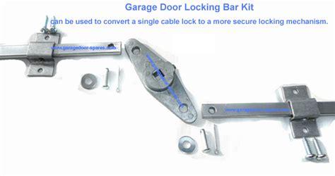 Garage Door Locking Mechanism Garage Door Lock Bar Kit For Upto 8 Foot Wide Garage Door Spares