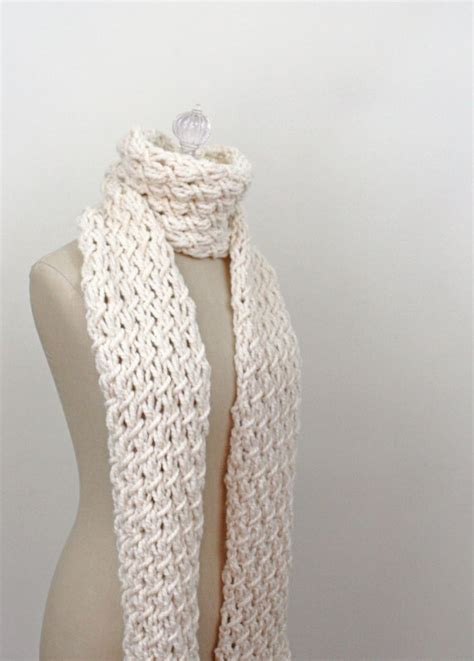 knitting pattern for scarf in chunky wool chunky knit scarf pattern a knitting blog