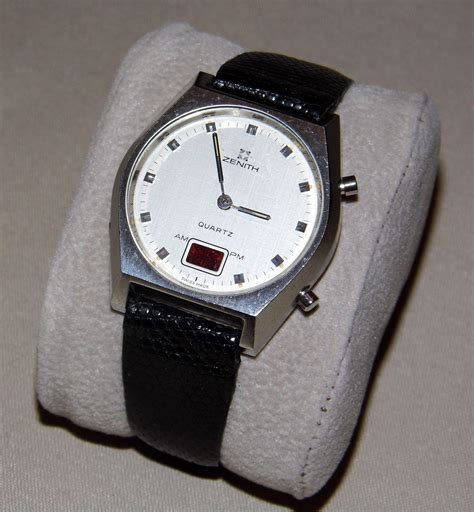 file vintage collection zenith swiss made s led